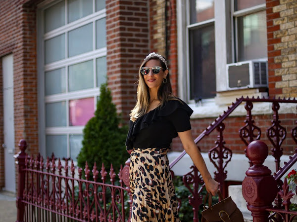 The Must Have Leopard Print Skirt