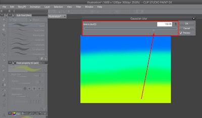 Tutorial Menggunakan Gaussian Blur di CSP Untuk Pemula