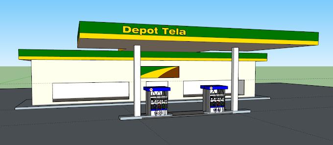 Cambodia Depot Tela Sketch Up file