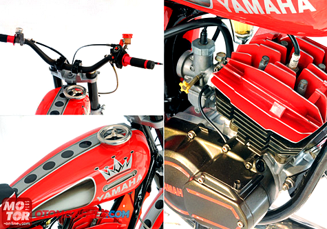Modifikasi RX-King ala Motor Mini Chopper Sporty