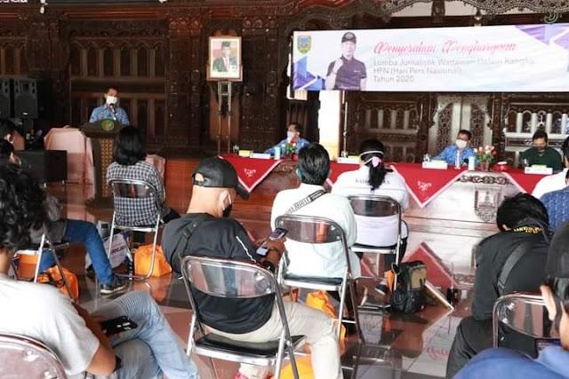Apresiasi Plt. Bupati Kudus Atas Peran Media Dalam Sosialisasi Lawan Covid-19