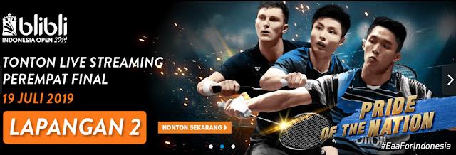 Dapatkan Kemudahan Menonton Streaming Badminton Indonesia Open? Coba Yuk di Blibliplay
