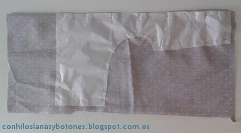 Con hilos, lanas y botones: Pantalón de bebé con tirantes - Paso a paso