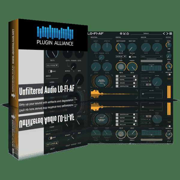 Unfiltered Audio LO-FI-AF v1.0.0 Full version