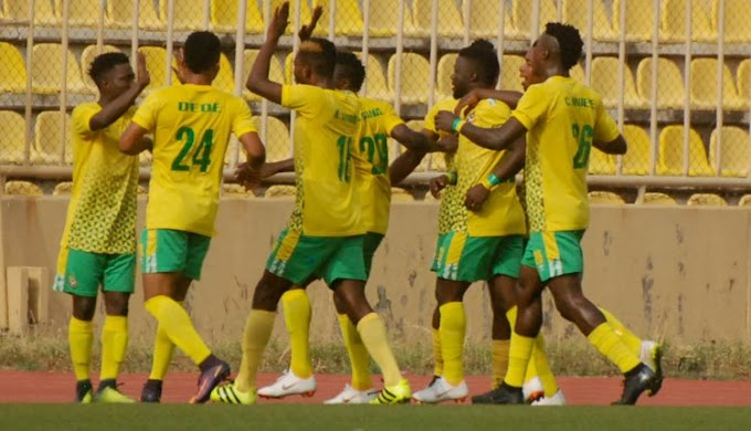 The Nigeria Professional Football League Matchday 16 Results