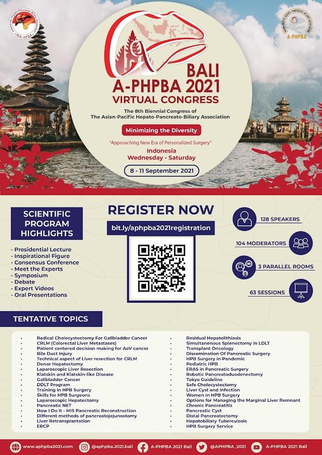 A-PHPBA 2021 Bali - Virtual Congress Minimizing the Diversity