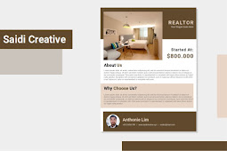 Free Realtor Flyer Template Microsoft Word Document Fully Editable File