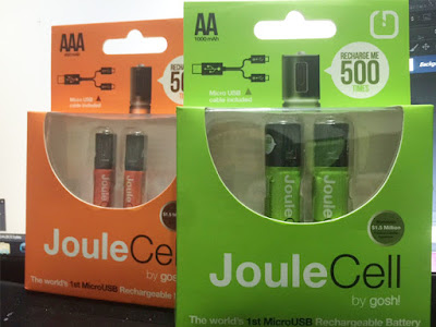 Joule Cell Rechargeable Battery by Gosh!