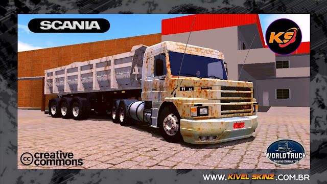 SCANIA T113 - ENFERRUJADA