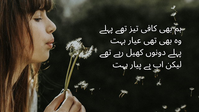 urdu Shayari : Best love, Sad, Romantic, Attitude, Dard Shayari for FB and Whatsapp Status - 4 line urdu poetry pyaar ka shyer