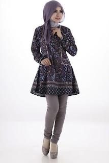 Batik Muslim Wanita Gemuk