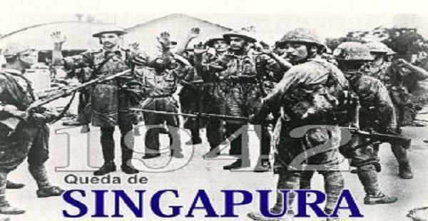Batalha de Singapura II Guerra Mundial, Pacífico 15-02-1942