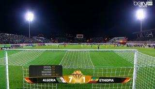 """فيديو""""  الجزائر تكتسح إثيوبيا بسباعية فى تصفيات امم افريقيا, 25-3-2016    اهداف مباراة الجزائر وإثيوبيا 7-1"""