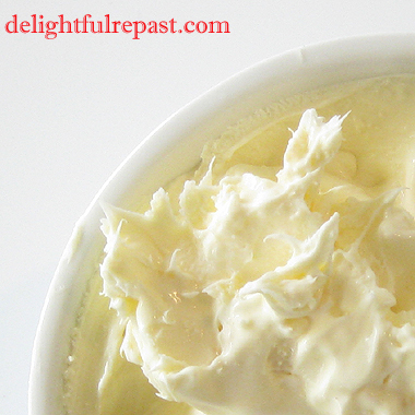 Clotted Cream - Stovetop Method - An Afternoon Tea Essential / www.delightfulrepast.com