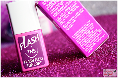TNS cosmetics  topcoat flash fluo