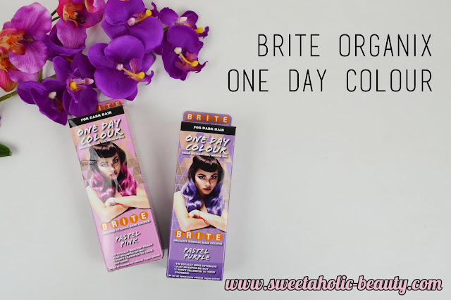 Brite Organix One Day Colour for Dark Hair Review - Sweetaholic Beauty
