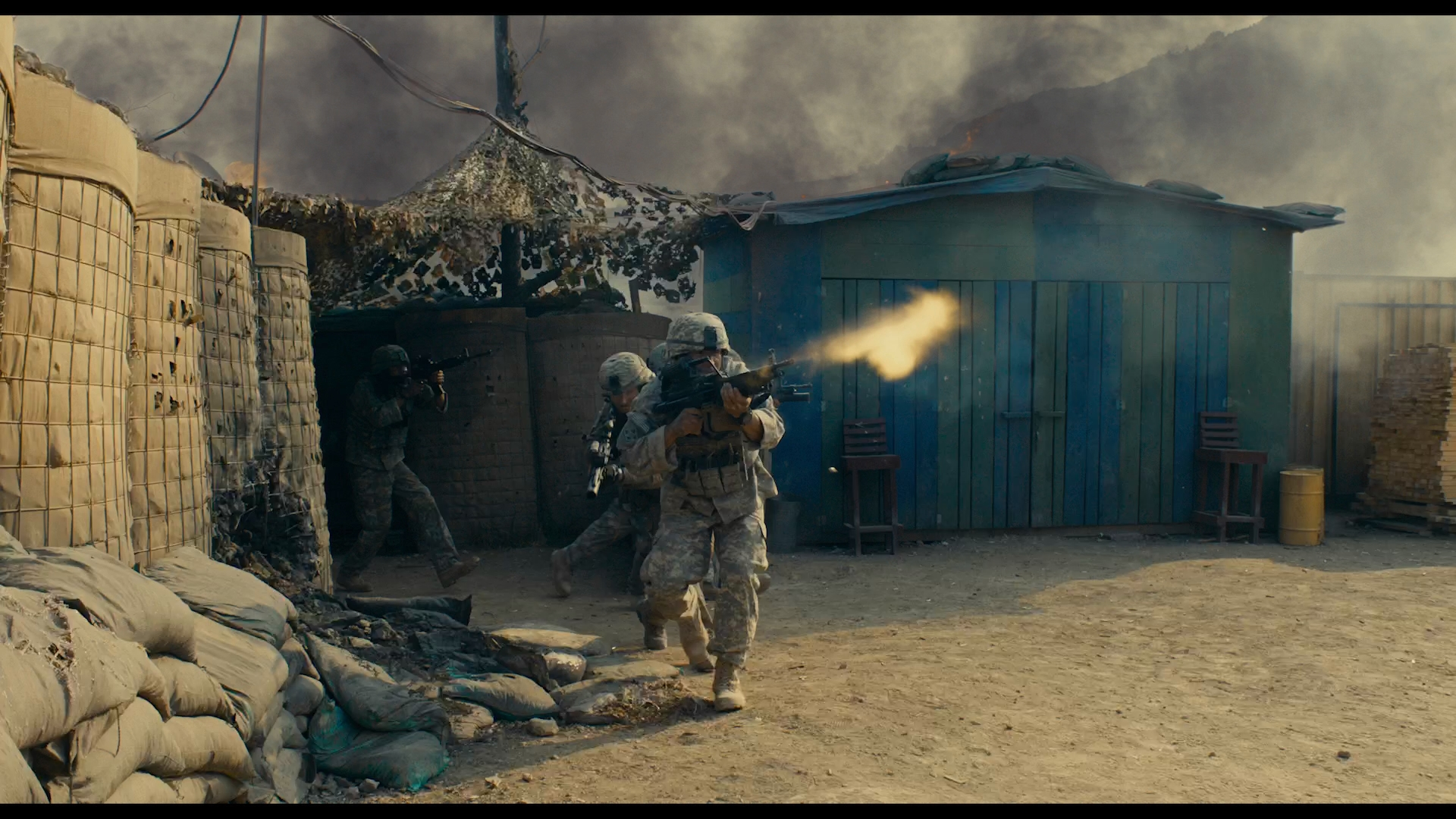 La Batalla de Kamdesh (2020) 1080p BDRip Latino