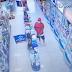 Câmera flagra furto em farmácia na cidade Cajazeiras PB