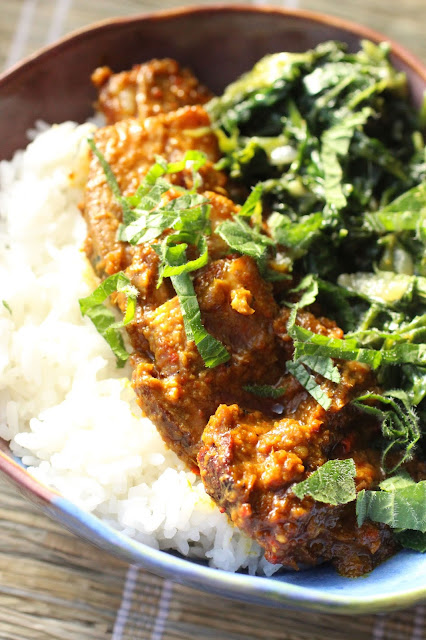 canard cuisiné a l'indonésienne