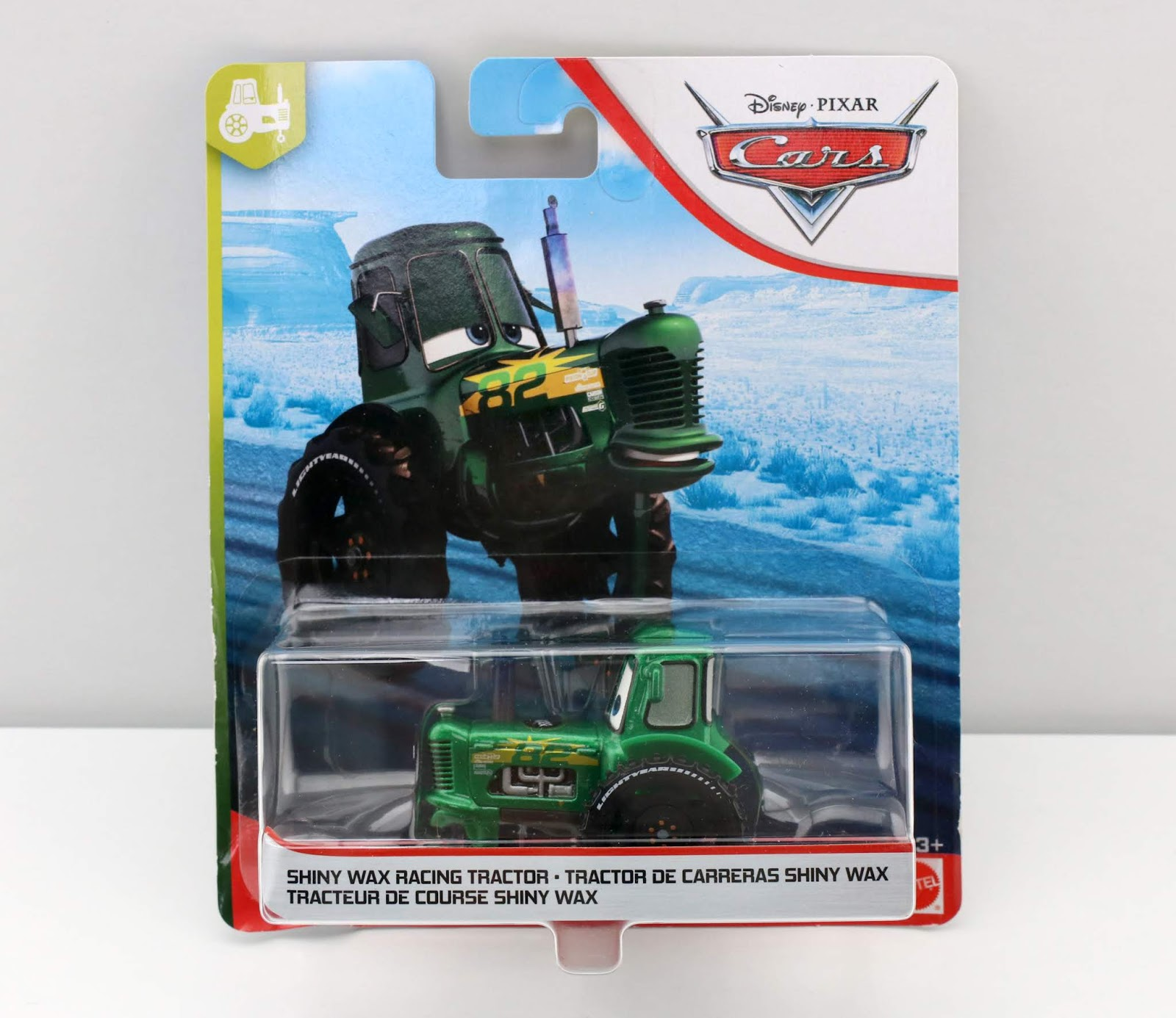 Cars 3 Shiny Wax Racing Tractor diecast review