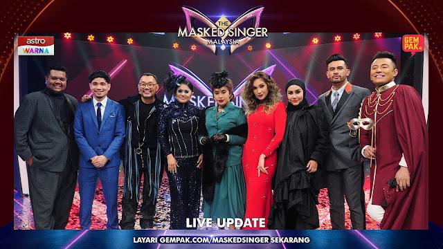 Tahniah Bunga Raya (Aina Abdul) Memenangi The Masked Singer Malaysia Musim Pertama