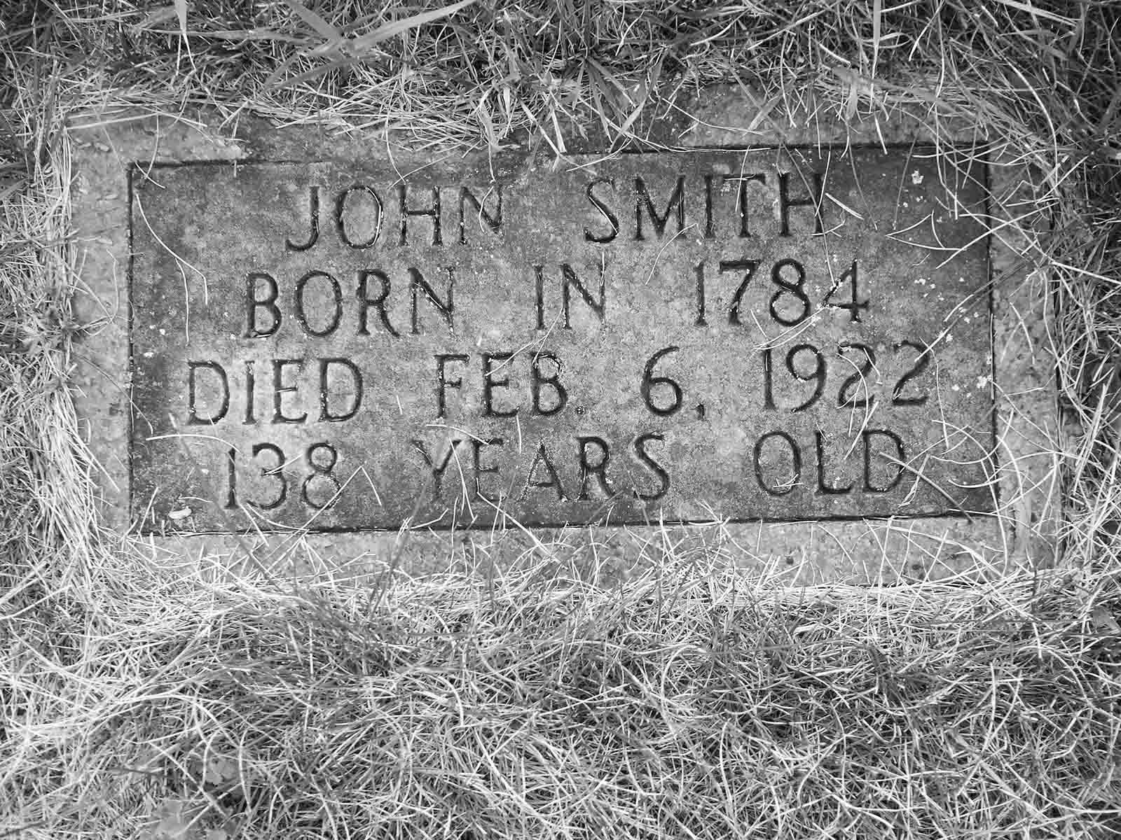 chief john smith 6 - Possivelmente estes senhores foram - A pessoa mais velha do mundo