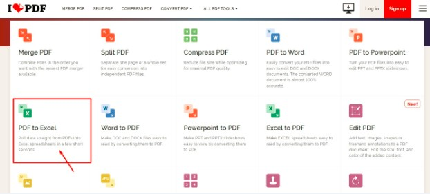 Pdf to Excel Free Converter Online
