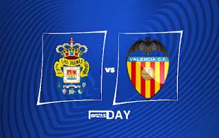 Las Palmas vs Valencia – Highlights