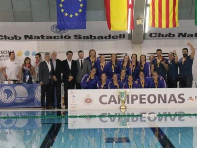 WATERPOLO - Copa de la Reina 2016 (Sabadell): Mataró levanta su primer título nacional terminando la imbatibilidad del Sabadell