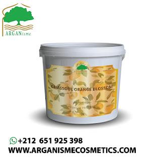 Ghassoul With Orange Blossom Flavor - Ghassoul Bulk Wholesale