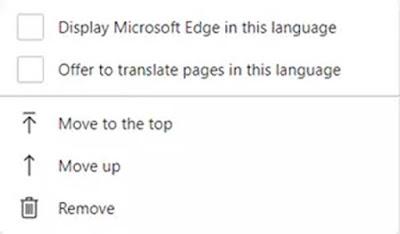 Aktif / Nonaktifkan Terjemahan Bahasa Situs Web Di Microsoft Edge