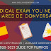The Medical Exam You Need for Auxiliares de Conversación