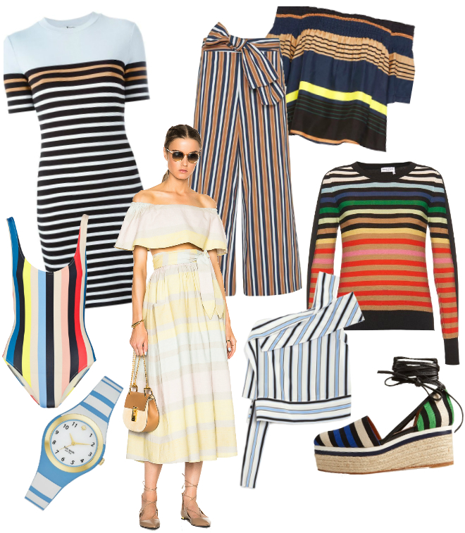 spring stripes fashion