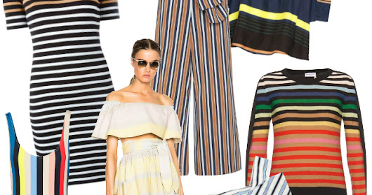 The Well-Appointed Catwalk: Spring Stripes