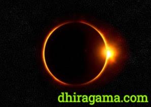 Tatacara dan Niat Shalat Gerhana Matahari
