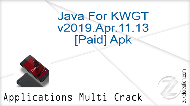 Java For KWGT v2019.Apr.11.13 [Paid] Apk  |  96.3 MB