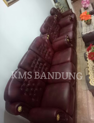 Hasil perbaikaan sofa