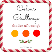 52 CCT January colour challenge - orange