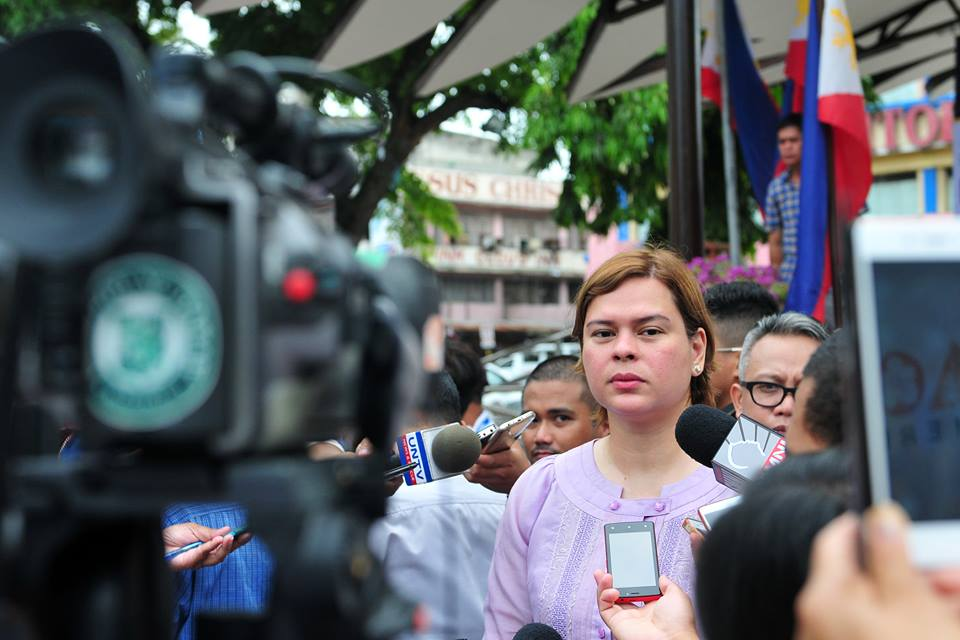 Inday Sara gives a fiery message for Trillanes