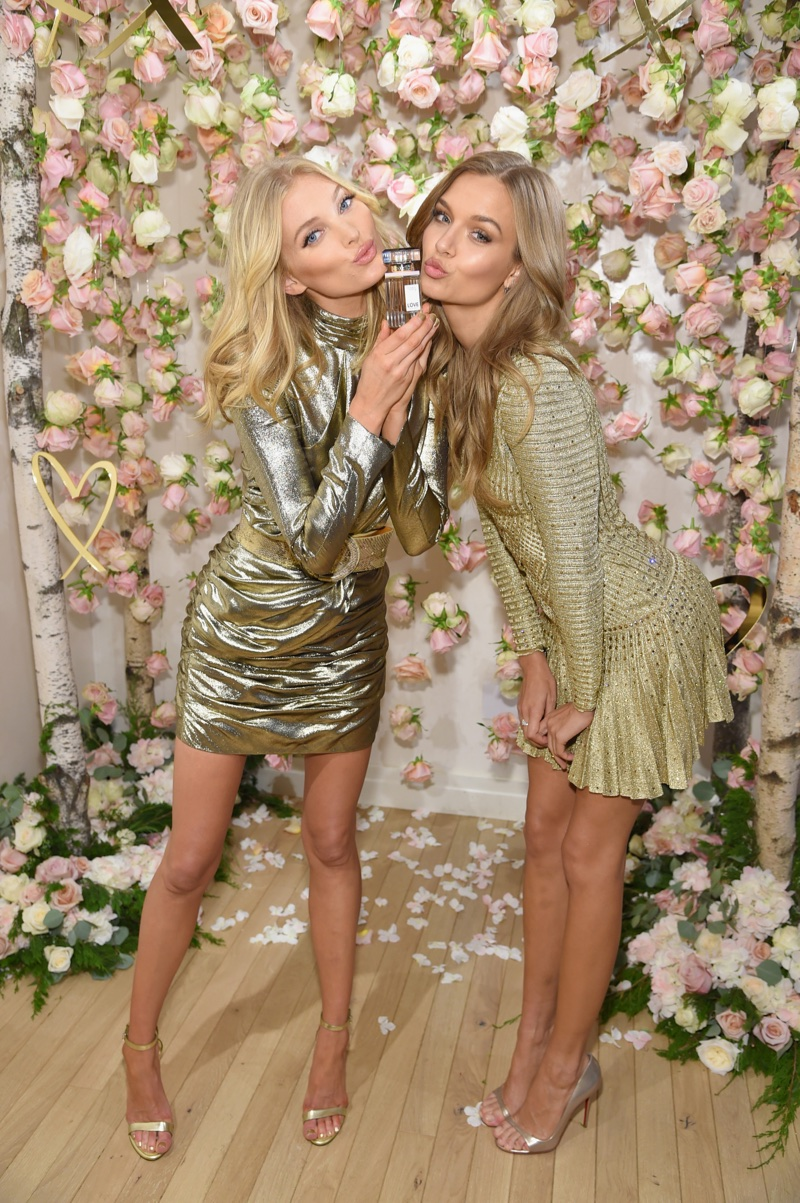 Elsa Hosk and Josephine Skriver at Victoria's Secret 'LOVE' fragrance launch