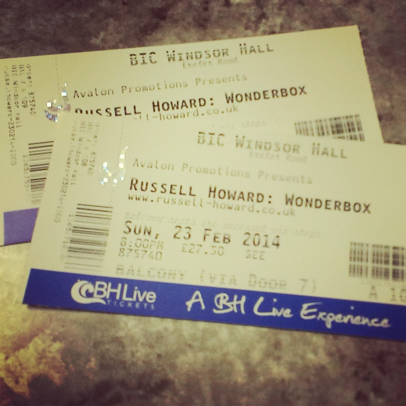 Russell Howard Tickets