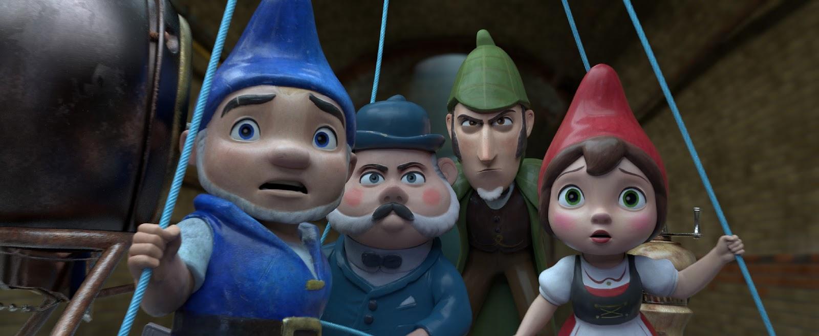 SHERLOCK GNOMES españa opinion