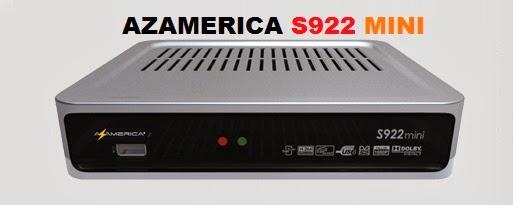 TUTORIAL AZAMERICA S922 MINI PARA VOLTAR SKS 30W - 28.01.2015