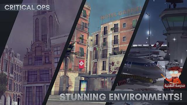لعبة حرب بجرافيك خرافي وحجم صغير للاندرويد - Critical Ops
