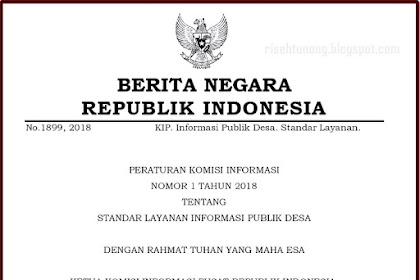 Peraturan Tentang Standar Layanan Informasi Publik Desa