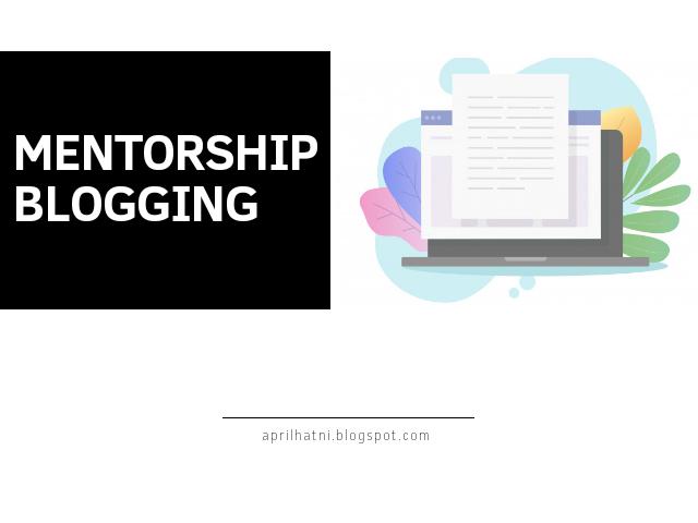 mentorship blogging