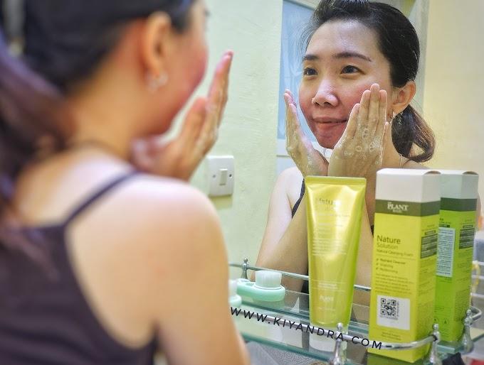 Facial Wash Dengan Aroma Bambu Dan Jeruk Untuk Kulit Berjerawat