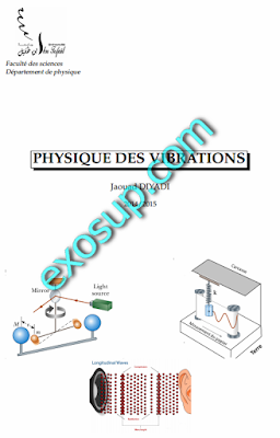 cours mécanique analytique et vibrations smp s5