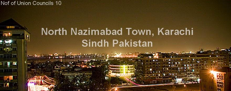 North Nazimabad Town, Karachi Sindh Pakistan - Shehar-e