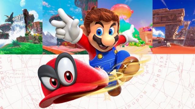 لعبة Super Mario Odyssey تسجل باليابان فقط أزيد من 500 ألف نسخة مباعة